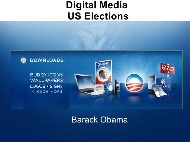 Digital Media - US Elections