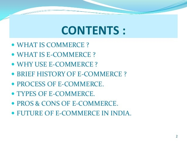 e commerce assignment Detailed description of e commerce assignment is: program name: bachelor of computer applications (bca) program code: bcs 062 validity of assignment: get first assignment in july 2017 and second in the january 2018.