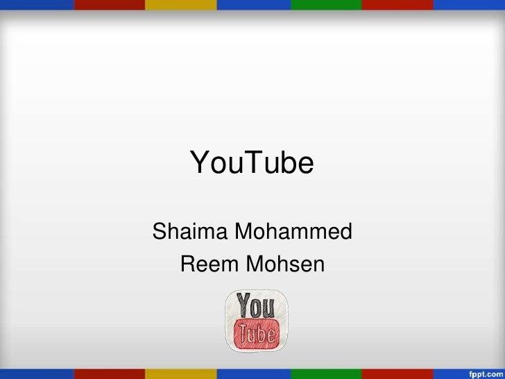 YouTubeShaima Mohammed  Reem Mohsen