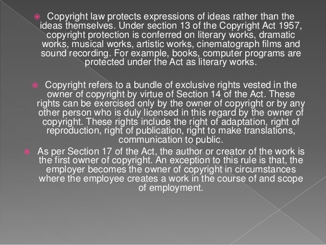 Copyright Law in India