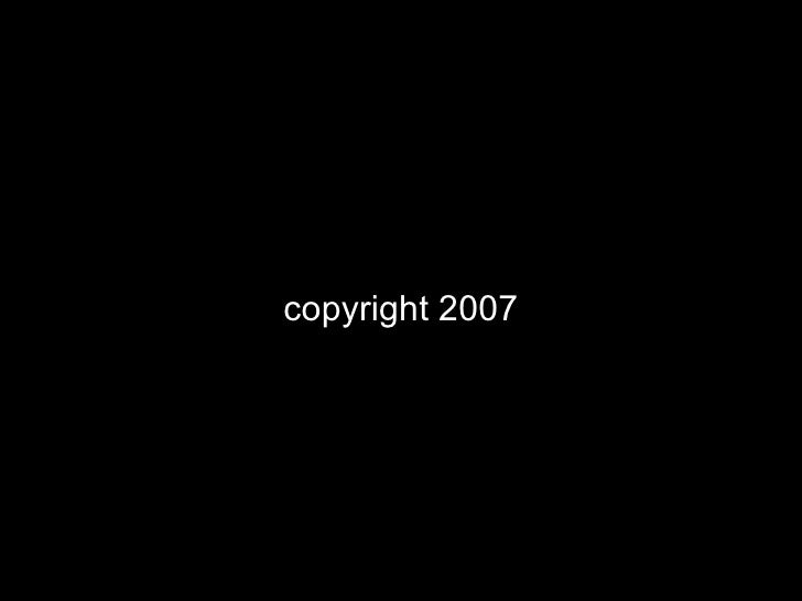 copyright 2007