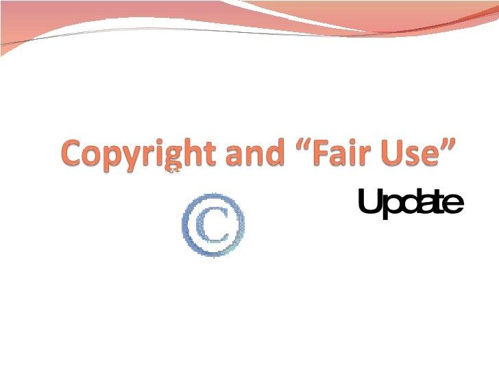 Copyright and fair use for teachers