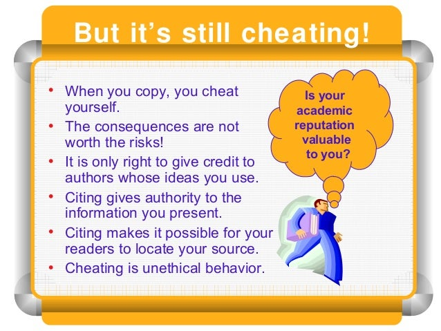an analysis of collaborating as cheating when you plagiarize While technology has made cheating much easier, can it also provide a solution   cheat sites and paper mills, copy off websites, and collaborate with fellow  students  which analyzed more than 37 million student papers submitted to  if  students know they're at risk of plagiarizing, they can rewrite and.