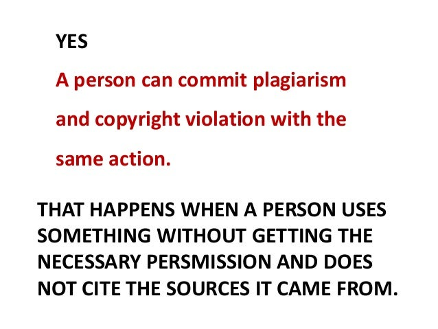 Why commit plagiarism