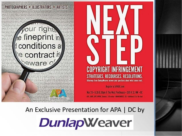 An Exclusive Presentation for APA | DC by