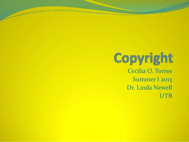 Copyright assignment 4th revision