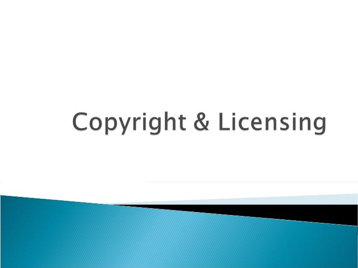 Copyright designs and patents act