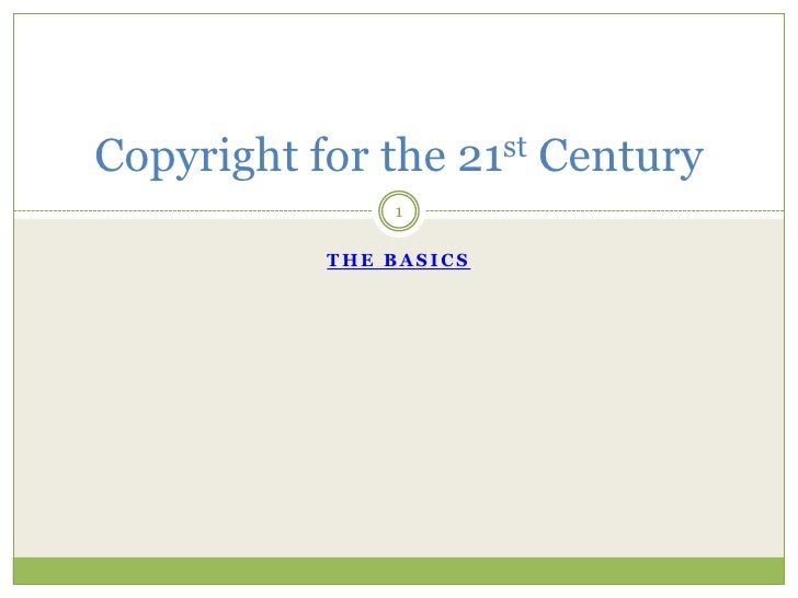 Copyright for the_21st_century