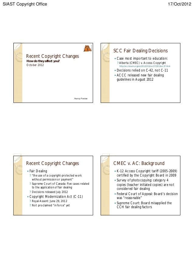 Copyright handouts   2012