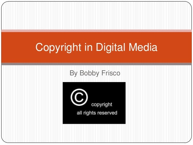 Copyright in video