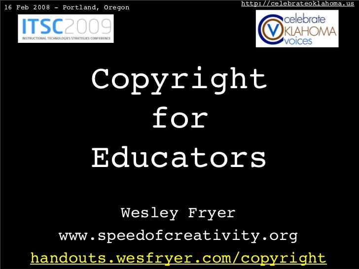 Copyright for Educators