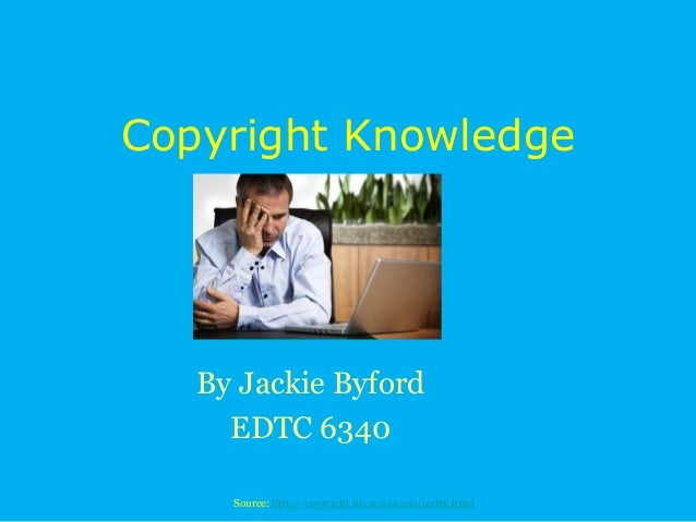 Copyright knowledge revised