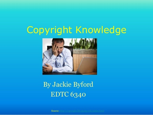 Copyright knowledge revised 5