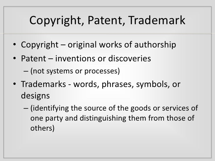 Fair Use Policies And Intellectual Property Rights Definition