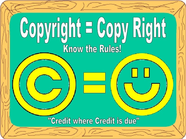 Copyright Posters