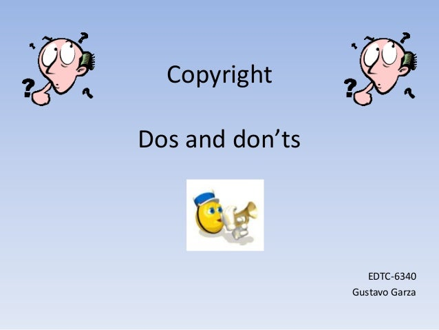 Copyright powerpoint # 4