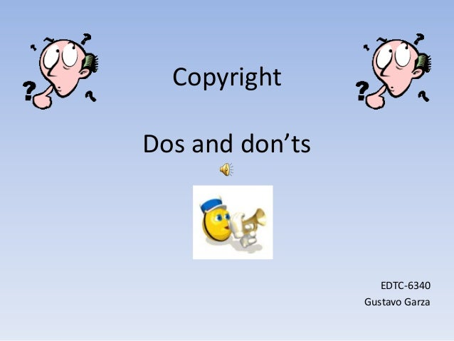 Copyright powerpoint # 5