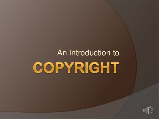An Intro to Copyright for Educators v3