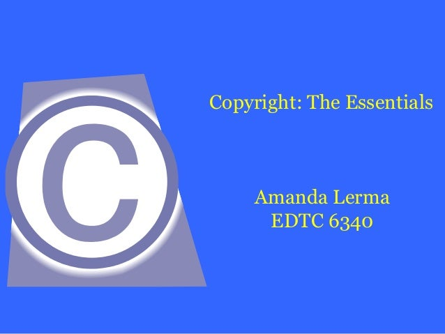 Copyright revision 3