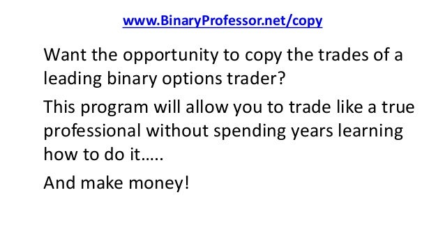 Binary options world