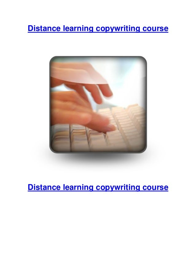 Distance learning copywriting course  Distance learning copywriting course