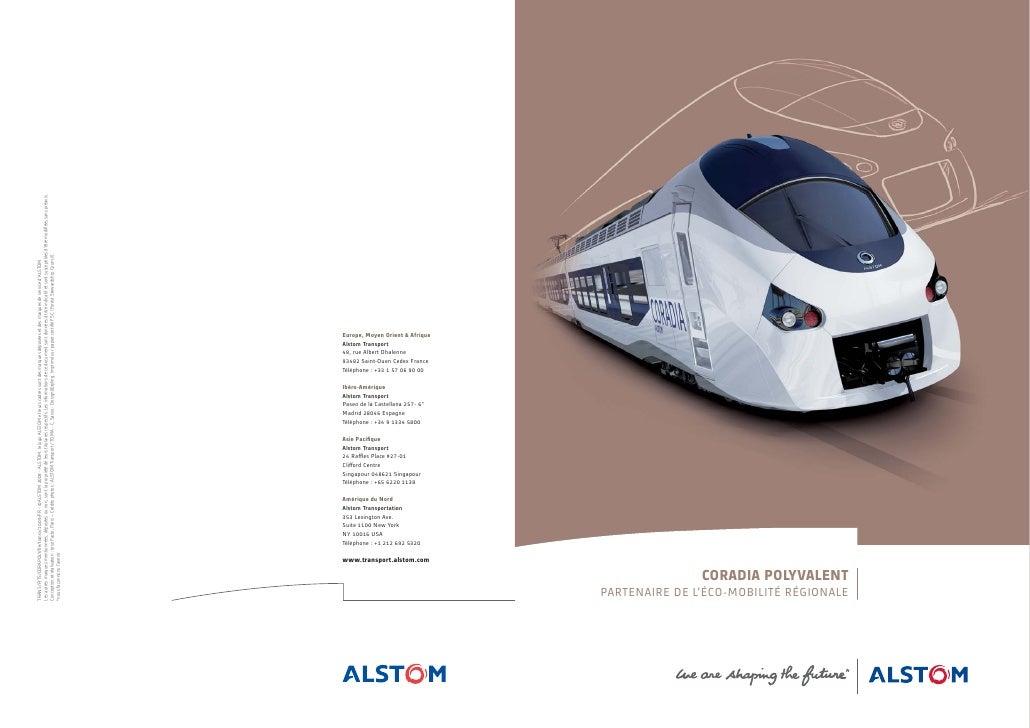 TRANS/PJTS/CORAPOLY/fre/transv/10.09/FR - ©ALSTOM 2009 - ALSTOM, le logo ALSTOM et leurs cadres sont des marques déposées ...