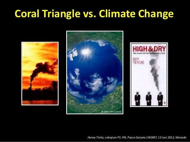 Coral triangle vs climate change