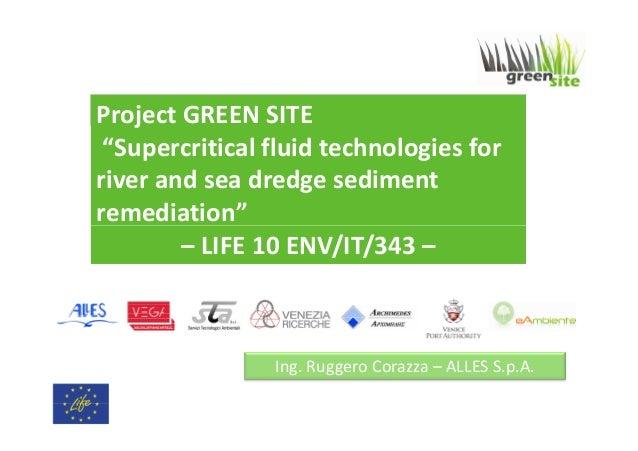 Ritratto Tecnico del progetto Green Site