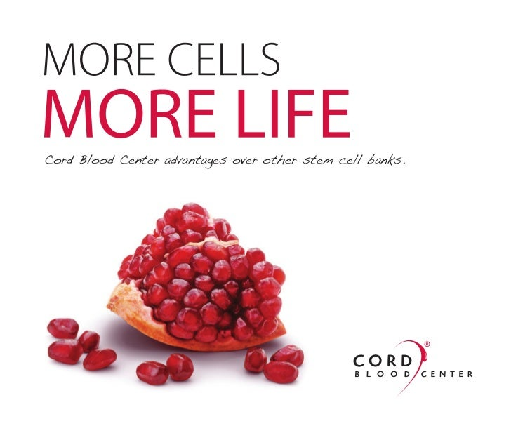 Cord Blood Center advantages over other stem cell banks.