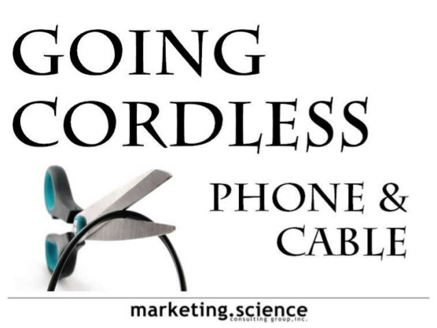 Cord Cutting Phone Cable TV by Augustine Fou and Tery Spataro