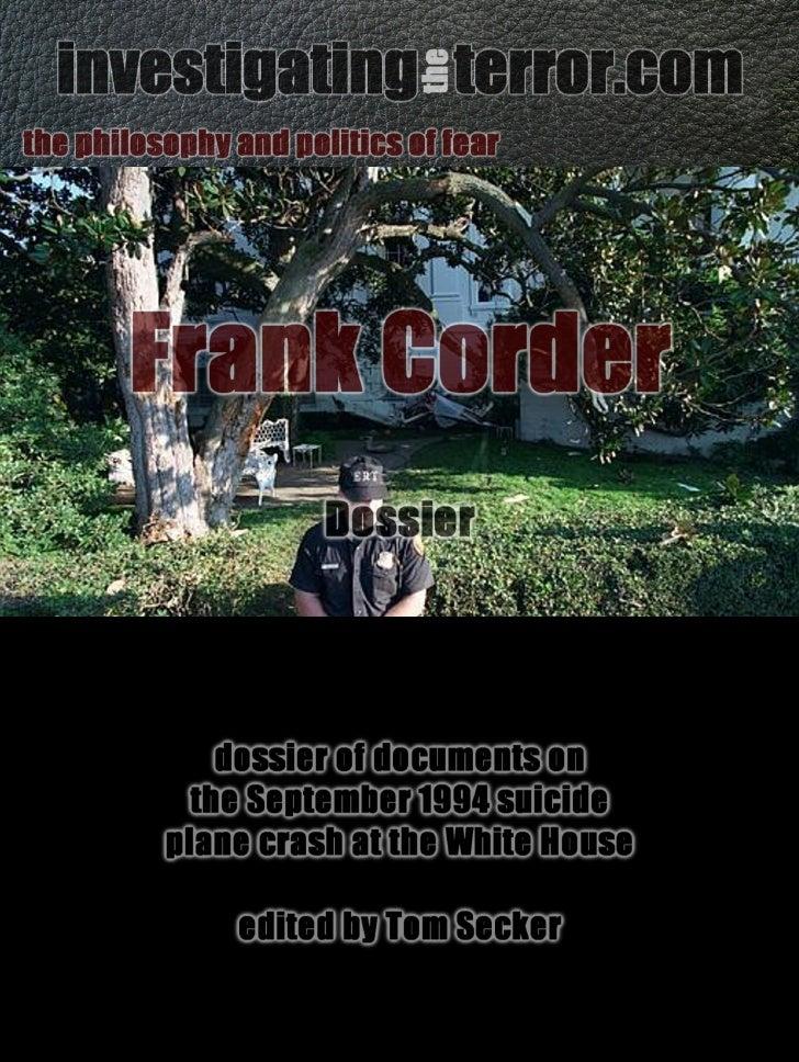 Frank Corder dossier