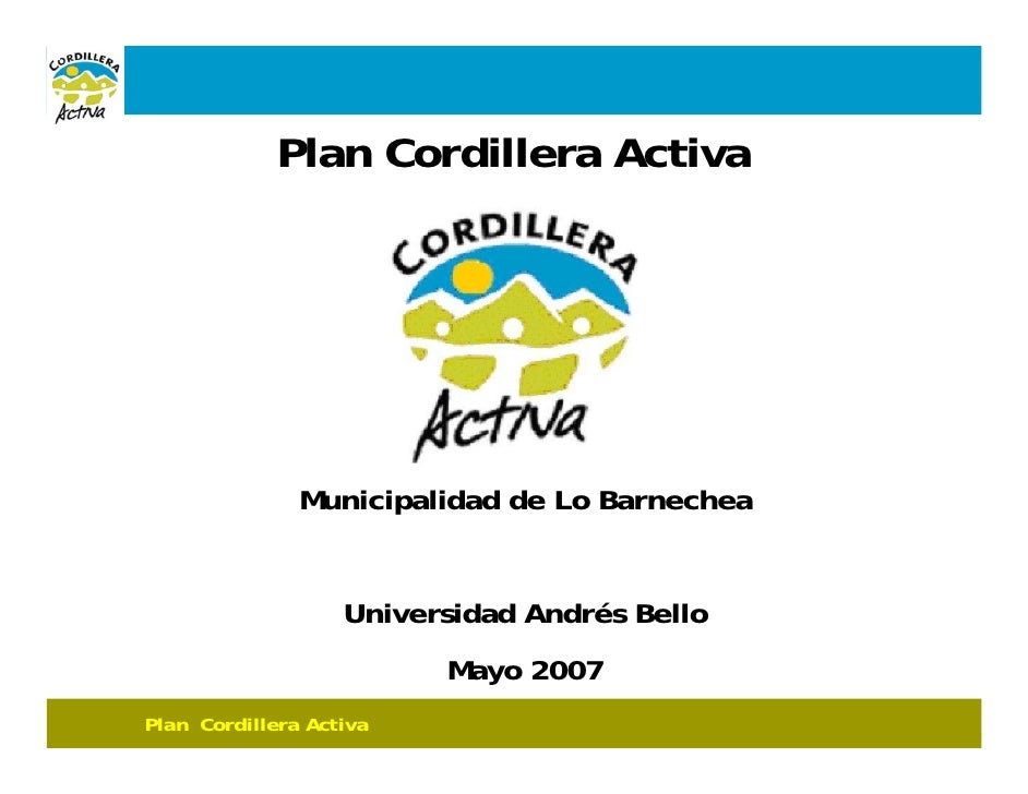 Cordillera Activa