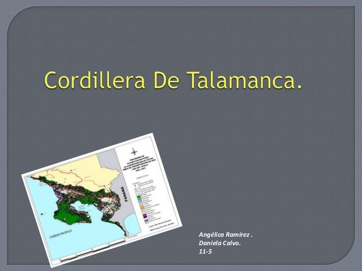 Angélica Ramírez .Daniela Calvo.11-5