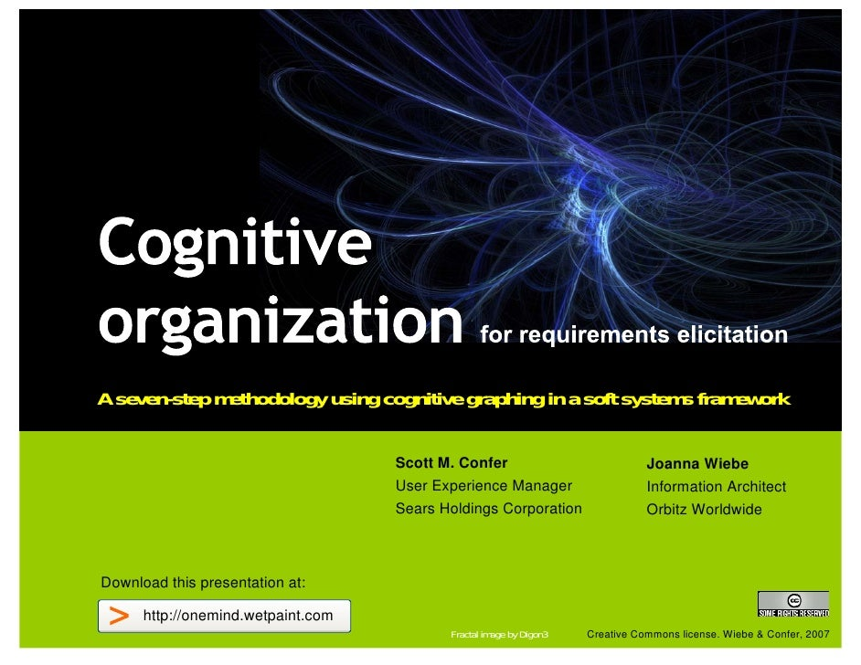 A seven-step methodology using cognitive graphing in a soft systems framework                                      Scott M...
