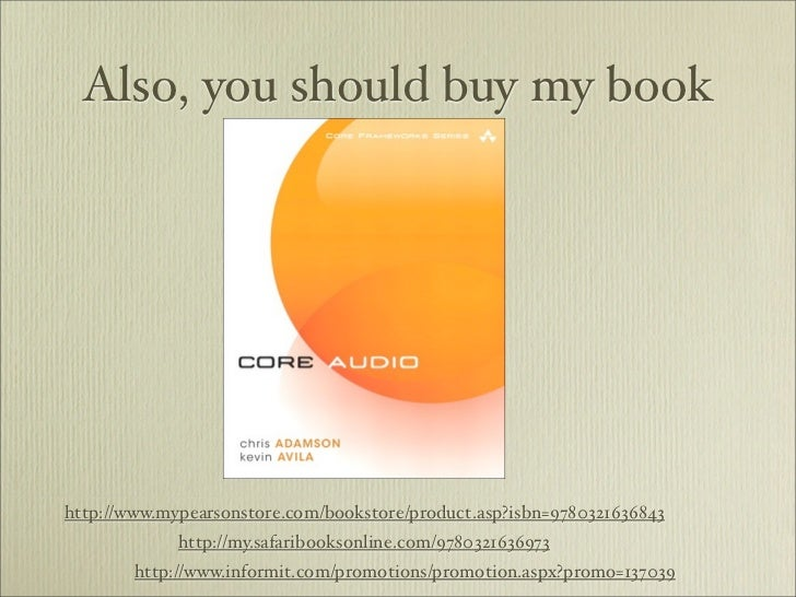 Also, you should buy my bookhttp://www.mypearsonstore.com/bookstore/product.asp?isbn=9780321636843             http://my.s...