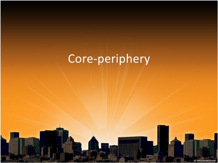 Core-periphery