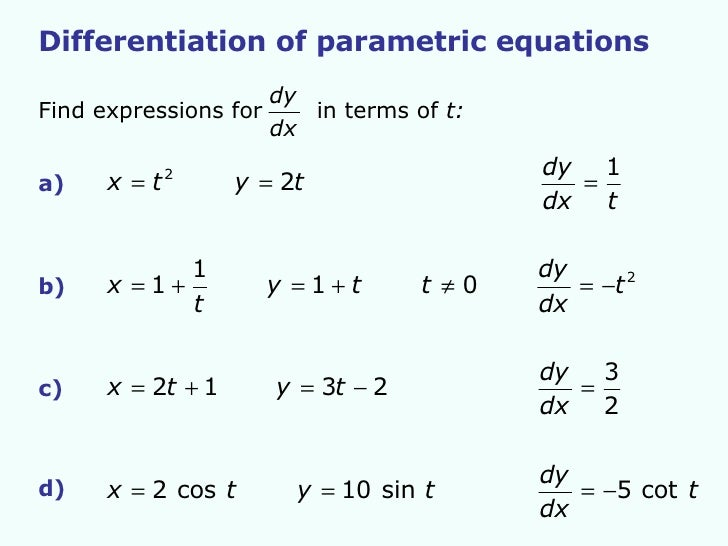 Printables Parametric Equations Worksheet parametric equations worksheet davezan collection of bloggakuten