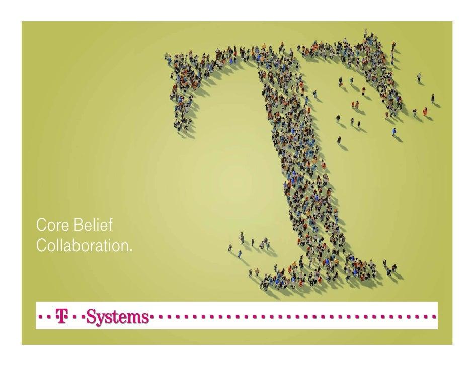 T-Systems Core Belief Collaboration - Portfolio Overview