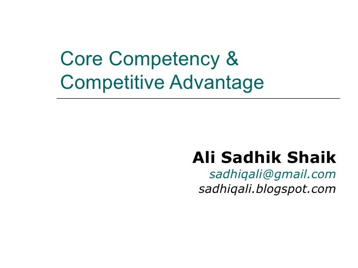 comparison of core competencies and competitive Tesla has several big competitive advantages, imho i'm going to discuss 5 below, but 3 tangible ones and 2 intangibles [full disclosure: i'm long tsla for.