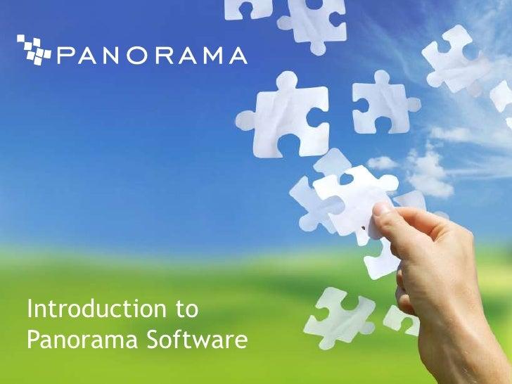 Panorama Business Intelligence Solution