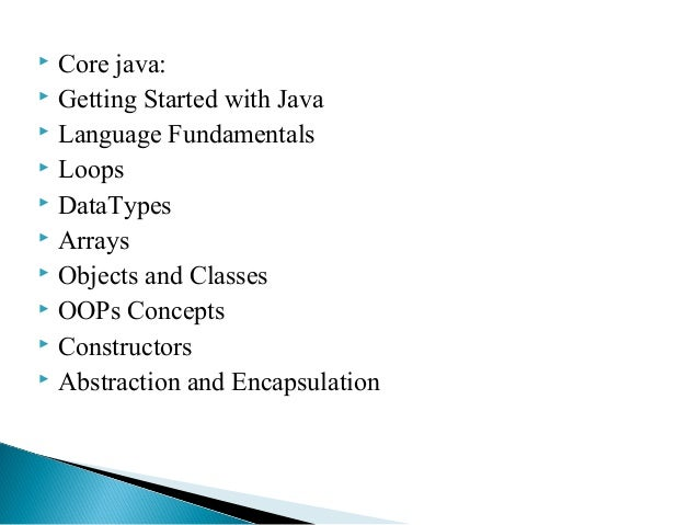 java online tutorial This tutorial would help you learn java like a pro i have shared 500+ tutorials on various topics of java including tutorials on core java and advanced java concepts and java programming examples this core java tutorial contains the links of all the tutorials in a systematic order starting from beginner's level to the.