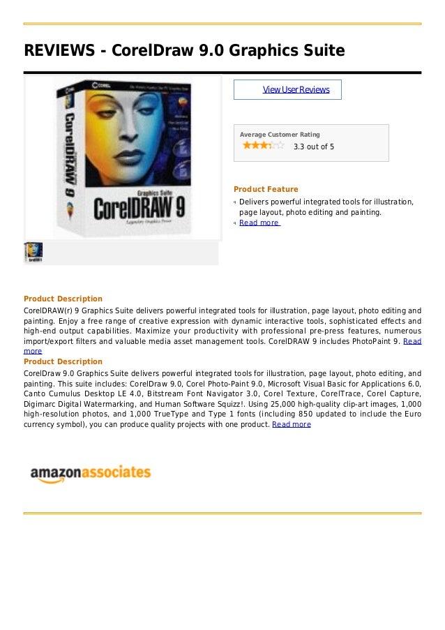 Corel draw 9.0 graphics suite