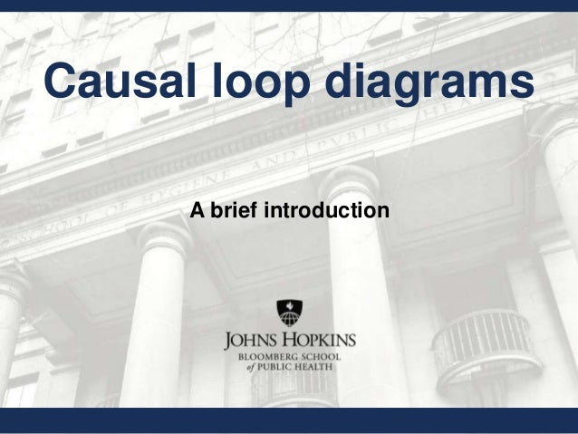 Causal loop diagrams A brief introduction