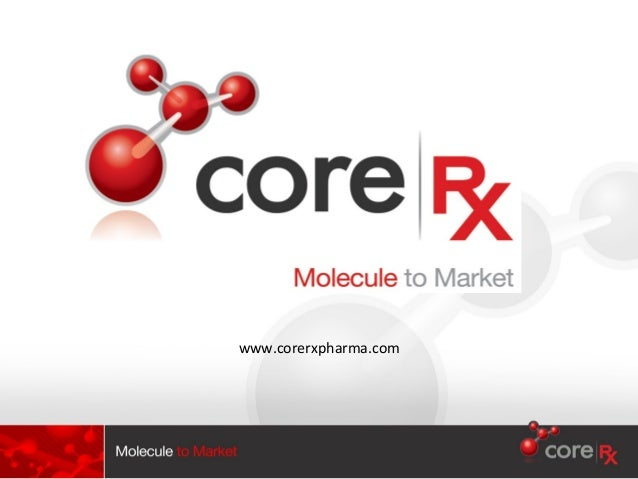 Core rx presentation_2012