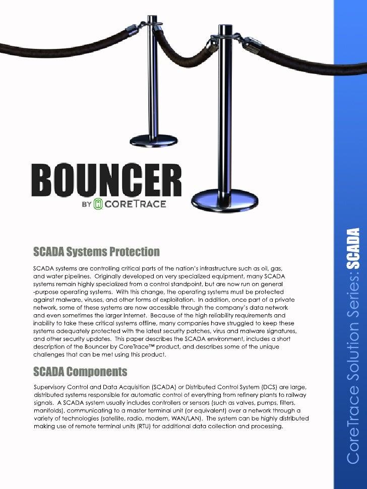 CoreTrace Whitepaper: CoreTrace Solution Series SCADA