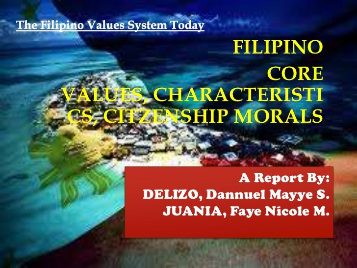 what are the filipino traits and values