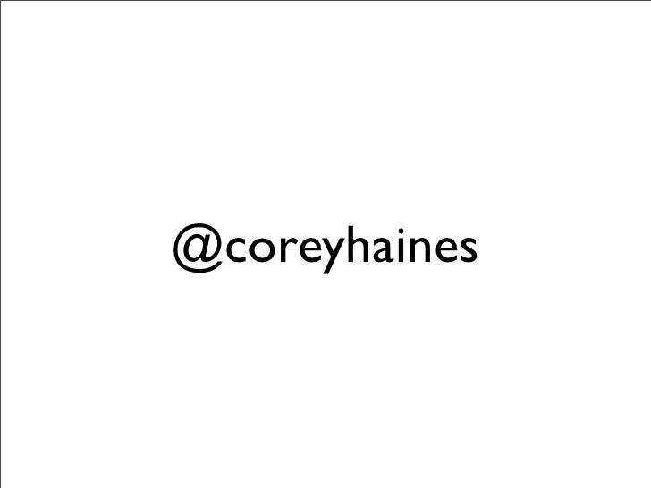 @coreyhaines