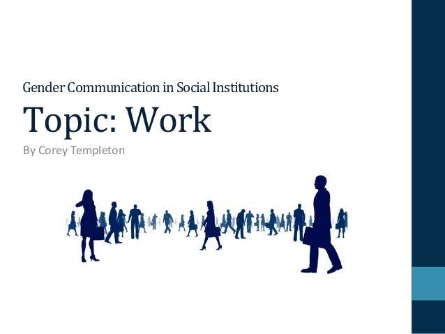 Corey Templeton CMS 498 Work Presentation