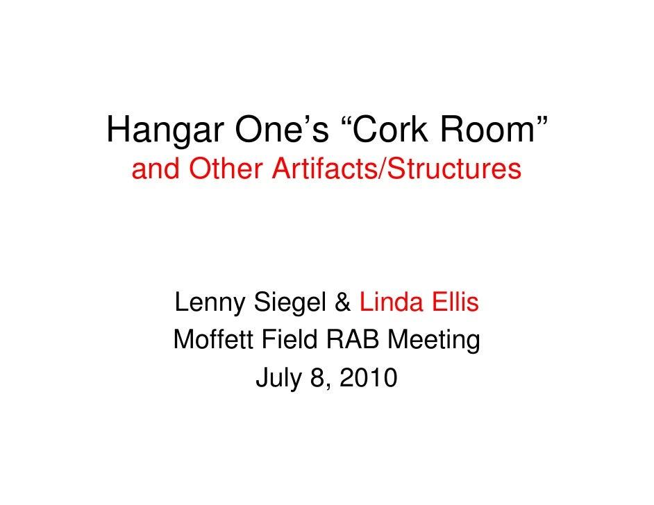 Moffett RAB Hangar One Subcommittee Report