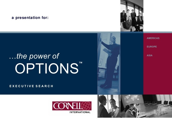 Cornell International Corporate Presentation